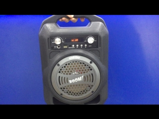 MP3 Колонка мини SmartBuy SBS-4000 bluetooth/9Bt/USB/Fm черная - 2200р.