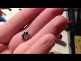 Замена гнезда зарядки micro usb, как перепаять гнездо зарядки телефона