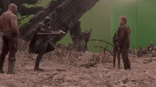 Alternative ending Guardians of the Galaxy
