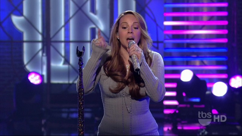 Mariah Carey - It's A Wrap (live at Lopez Tonight Show)