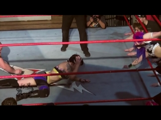 [Free Match] Heidi Lovelace (Ruby Riott) u0026 Kimber Lee v Dickinson u0026 Callihan (Intergender Wrestling)