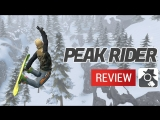 PEAK RIDER SNOWBOARDING - AppSpy Review