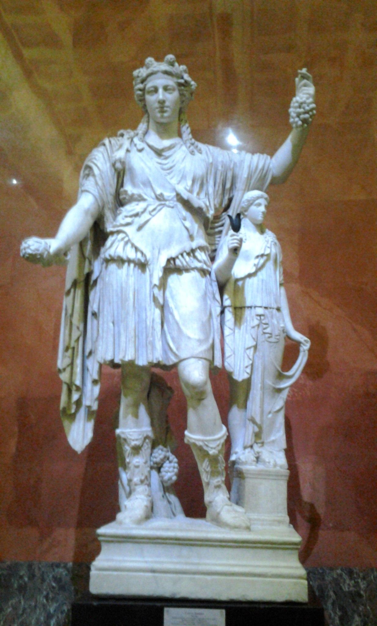 Статуя Диониса. Эрмитаж