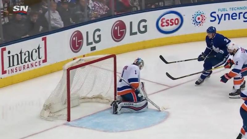 Dermott Holl net first NHL goals