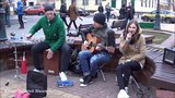Viva La Vida - Coldplay and LILY DEE! КЛАСС! Brest! Music! Song!