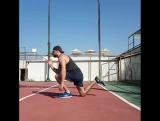 Отличное упражнение для развития прыжка с одной ноги