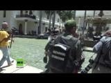 Venezuela Ein Land versinkt im Chaos – Vermummte stürmen Parlament und verprügeln Abgeordnete