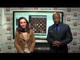 Liv Boeree, poker superstar, and Maurice Ashley.