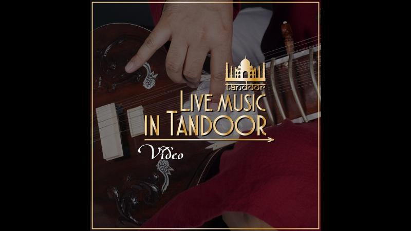 Amazing fusion indian music by BENARES GHAT in Tandoor restaurant
