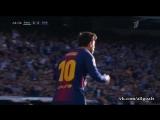 Реал 0-2 Барселона / гол Месси