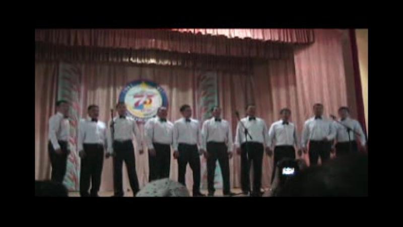 к 75 ЛЕТИЮ района концерт в с. Хара-Шибирь Сделано ДББ