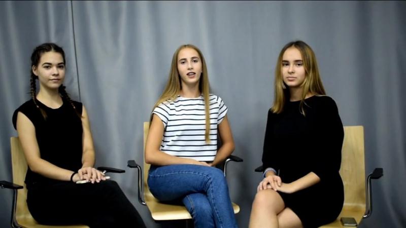 ЖиВая школа — видеоблогинг. Анжелика, Ангелина, Алина, направление «Искусство», сентябрь 2017