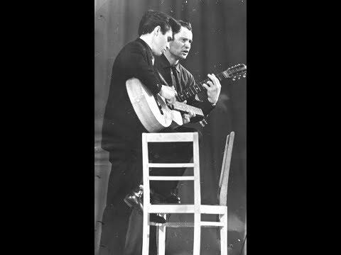 На Соловецких островах... (В. Вихорев). 2-я гитара - Е. Клячкин. 1967 г.