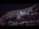 Ночной спидрайдинг (Speed Riding at night in Chamonix)