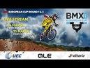 2018 UEC BMX EUROPEAN CUP Rounds 1 2 – Verona Italy, Sunday- morning part