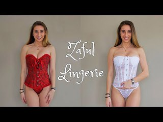 Zaful Lingerie Try On | Hot Collection