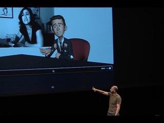 Disney Animator, Nicolas Prothais Master Class : Eloquence and Gesture in Animation ( Excerpt )