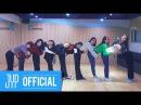 TWICE Heart Shaker Dance Video Practice Room Ver