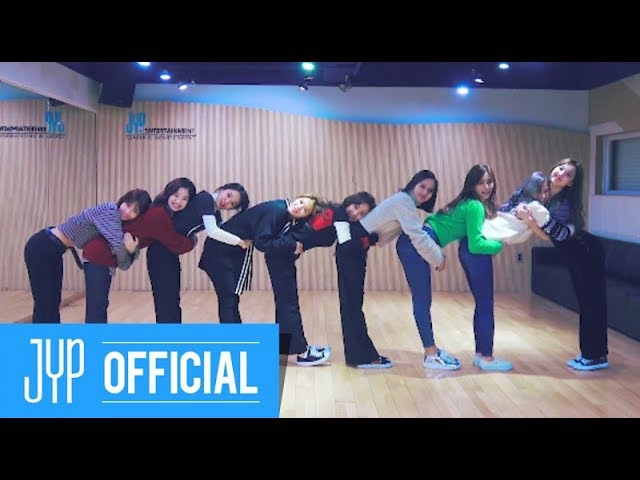 TWICE Heart Shaker Dance Video (Practice Room Ver.)