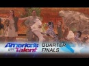 The Pompeyo Family: Adorable Animal Act Performs to Roar - America's Got Talent 2017