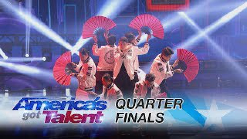 Just Jerk: Korean Dance Group Delivers Jaw-Dropping Performance - America's Got Talent 2017