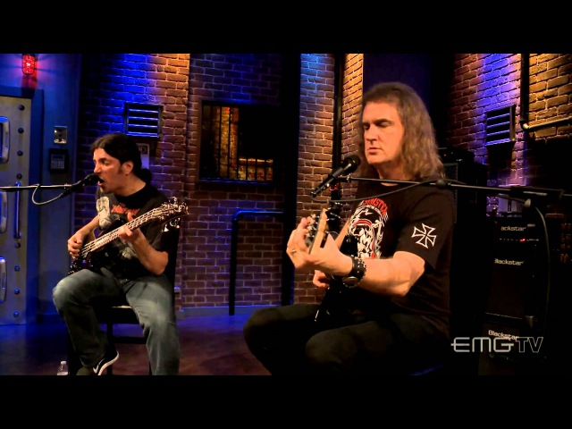Altitudes Attitude with Frank Bello and Dave Ellefson play Here Again on EMGtv