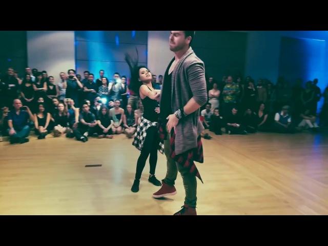 Usher - Tell Me Ft. Zandro Zoncini Danielle Felices [Freestyle Brazillian Zouk Dance]