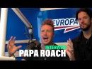 PAPA ROACH ve studiu Evropy 2