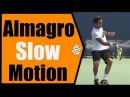 Nicolas Almagro Slow Motion Forehand, Backhand Serve 240FPS 1080p