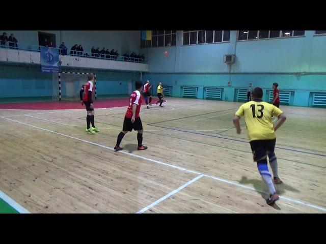 11 й тур Высшей Лиги г Запорожье по мини футболу Клён Феличита 1 1