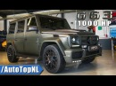 1000HP G63 AMG by GAD Motors Review - FASTEST G CLASS IN THE WORLD by AutoTopNL English Subtitles
