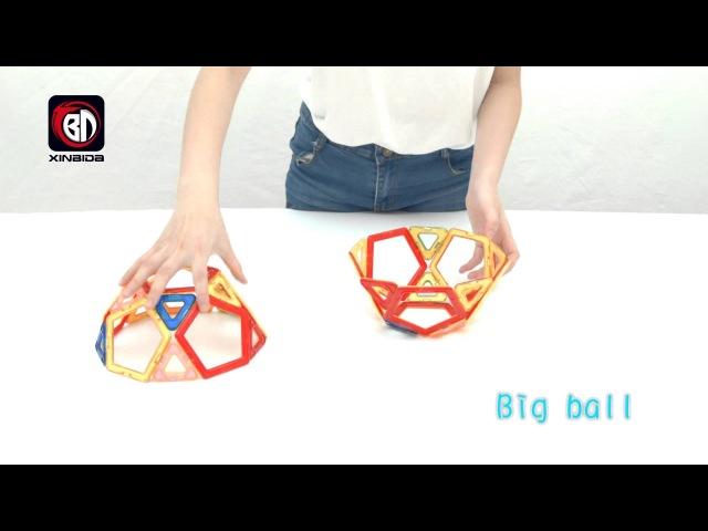 Магнитный конструктор Magical Magnetic Toy