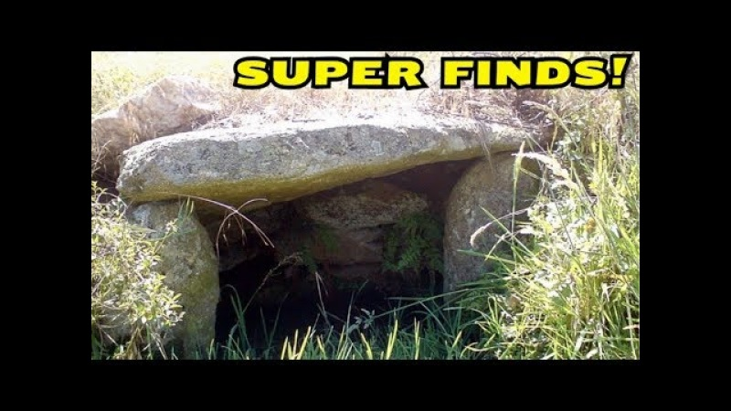 STUNNING METAL DETECTING NEAR THE STRANGE ANCIENT RUINS! CrazySeeker!