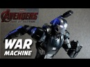 Hot Toys WAR MACHINE MKII Diecast Avengers Age of Ultron REVIEW / DiegoHDM