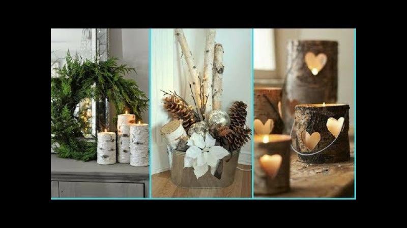 ❤DIY Shabby chic style Birch wood decor Ideas ❤| Home decor Interior design| Flamingo Mango|