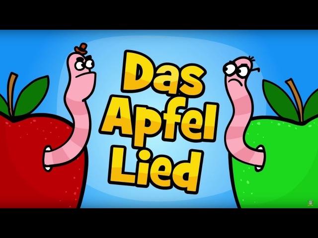 ♪ ♪ Kinderlied Apfel - Das Apfel Lied - Hurra Kinderlieder