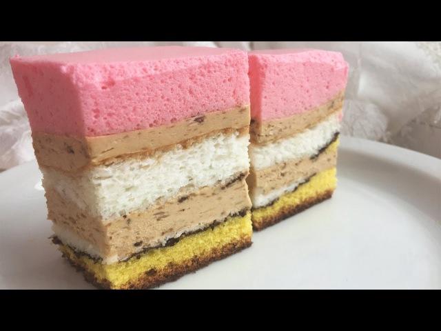 Торт Банановый. Рецепт Бананового Торта. Банановый торт суфле