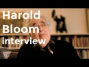 Harold Bloom interview on The Western Canon 1994