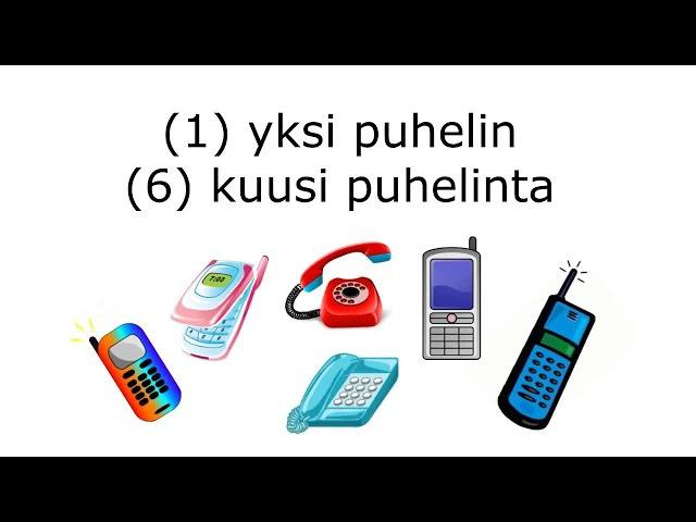 Финский с нуля - урок 3