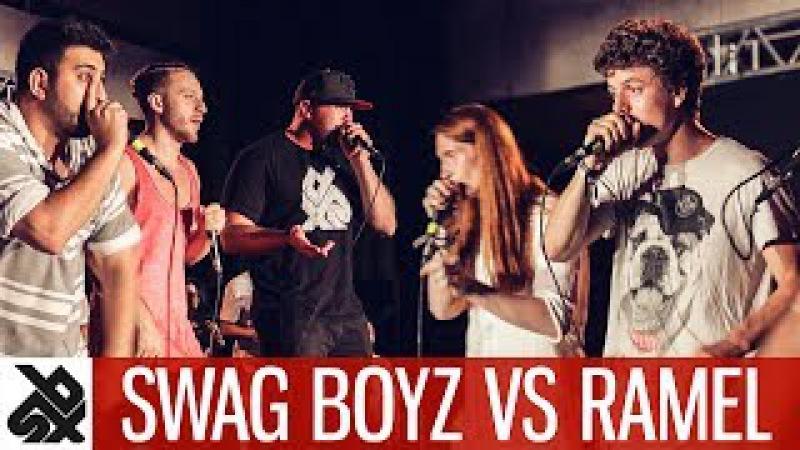 RAMEL vs SWAG BOYZ | WBC CREW Battle | SEMI FINAL
