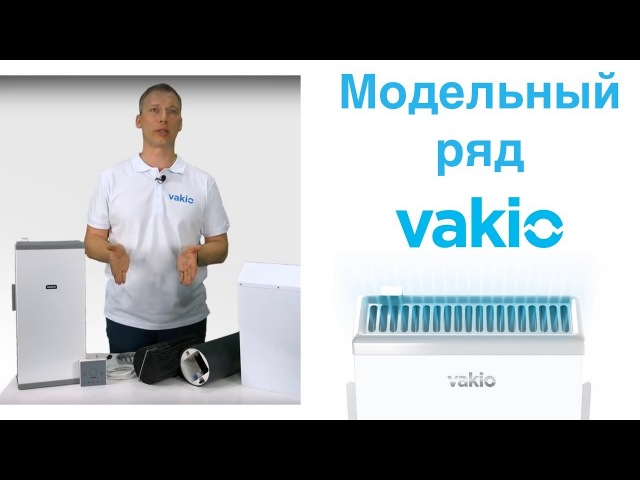 Модельный ряд компактной приточно-вытяжной системы VAKIO
