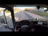 Volvo FH 540 2017, Relaxing Highway Driving in the Sunset )