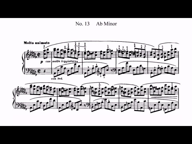 M. Moszkowski Etude op 72 No. 13 (Ilana Vered)