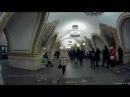 Станция метро Киевская кольцевая мозаичные панно и выход в город