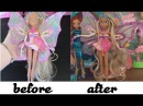 Winx Club - Flora dolls hair fix 1