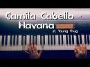 Camila Cabello Havana ft Young Thug piano cover на пианино