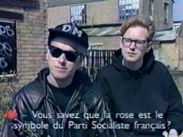 Depeche Mode Martin and Andrew interview Megamix 12 5 1990 FR3 France