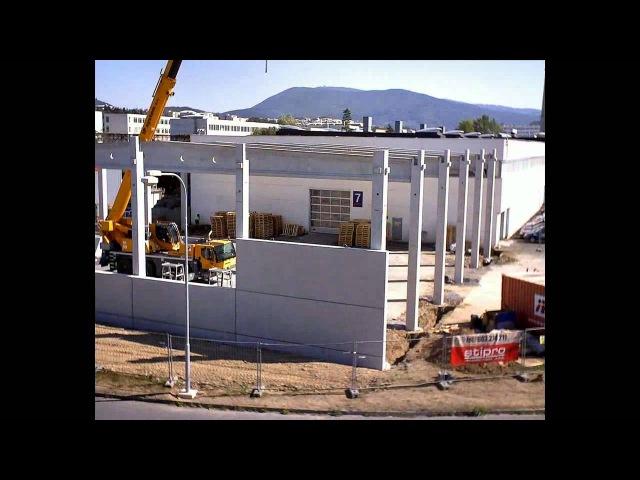 Строительство нового корпуса завода Remak a.s., 2012 год