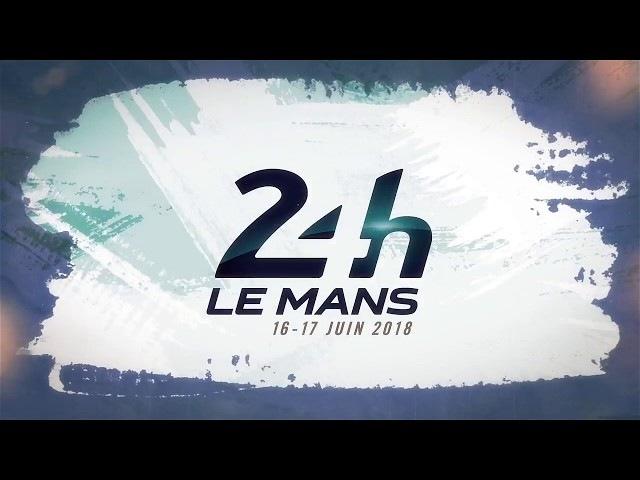 Affiche 24 Heures du Mans 2018