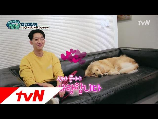 171213 tvN's Dear My Human EP13 Lee Jungshin Simba cuts 2